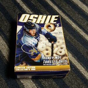 Oshie cereal. Collector items